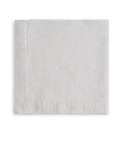 Dove Grey Linen Napkin Mitered Hem Collection - The Linen Works