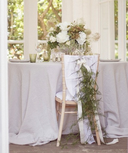 Dove Grey Linen Tablecloth Mitered Hem Collection - The Linen Works