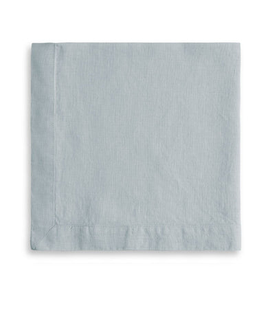 Duck Egg Linen Napkin Mitered Hem Collection - The Linen Works
