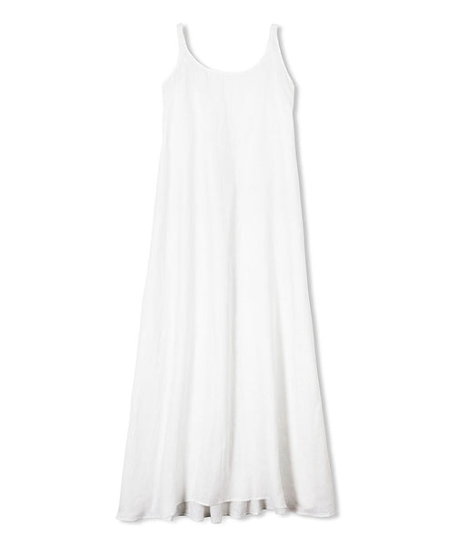 White Linen Night Dress - The Linen Works (217608880138)