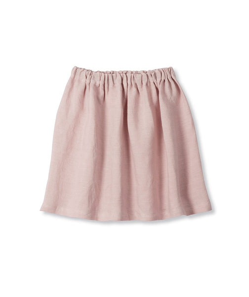 Rose Linen Girl's Skirt - The Linen Works (217265799178)
