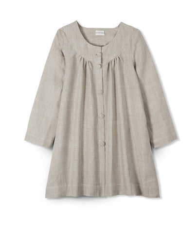 Oatmeal Linen Jacket - The Linen Works (4463735242829)