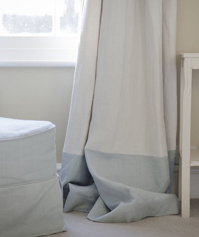 Chalk Linen Fabric Motte Collection - The Linen Works