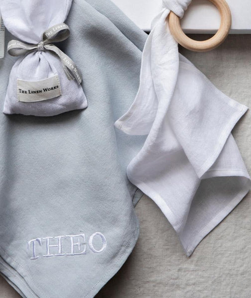 Rose Linen Newborn Gift Set (4347756904525)