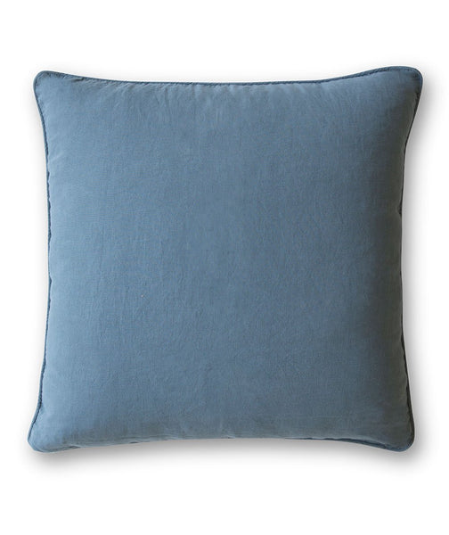 Parisian Blue Linen Dog Bed - The Linen Works (248958025738)