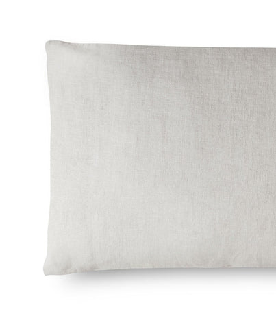 Picardie Ecru Housewife Linen Pillowcase - The Linen Works (4463843115085)