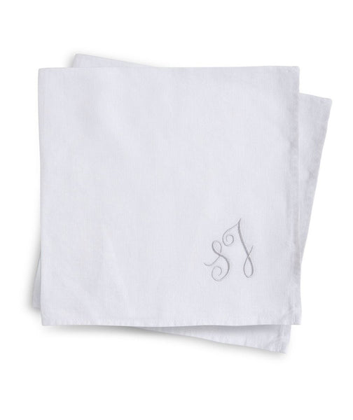White Linen Napkin - The Linen Works