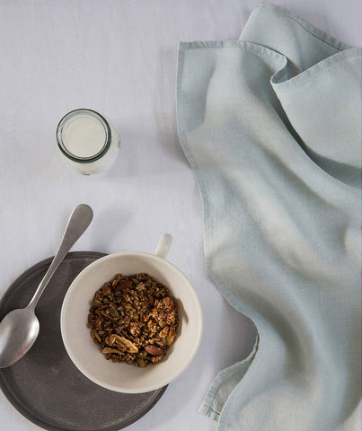 Duck Egg Linen Napkin - The Linen Works