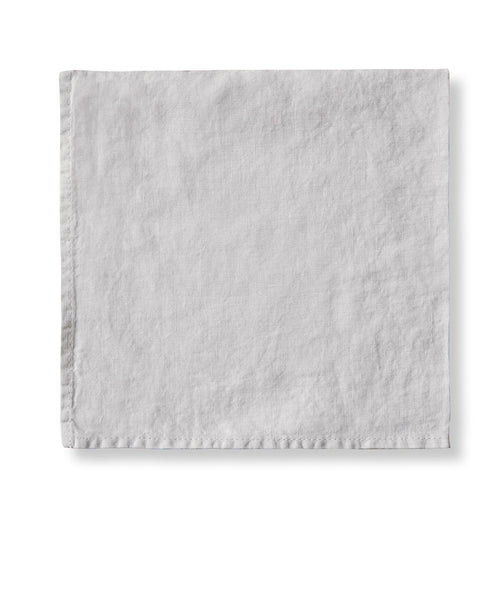Dove Grey Linen Napkin - The Linen Works (217390481418)