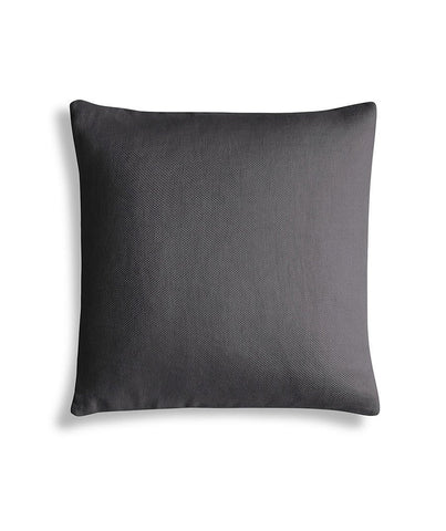 Charcoal Brown Linen Cushion Cover Motte Collection - The Linen Works