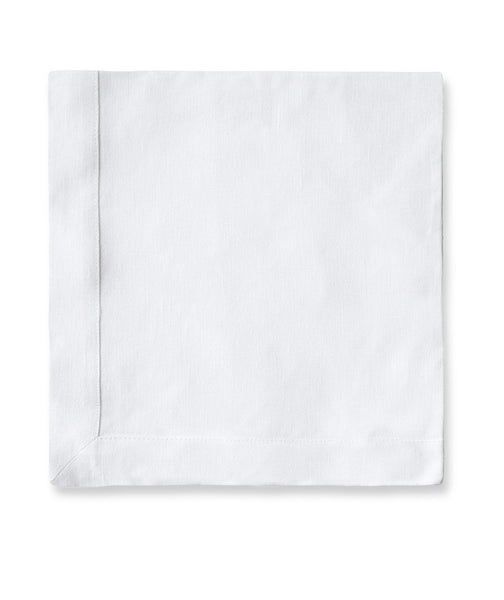 White Linen Napkin Mitered Hem Collection - The Linen Works (257737687050)