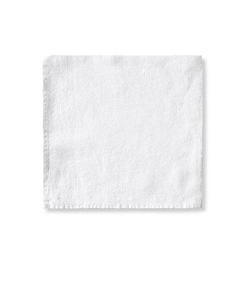 White Linen Napkin - The Linen Works (217375211530)