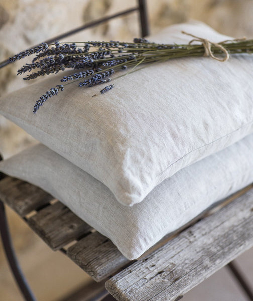 Ecru Linen Mini Cushion Cover - The Linen Works (263341965322)