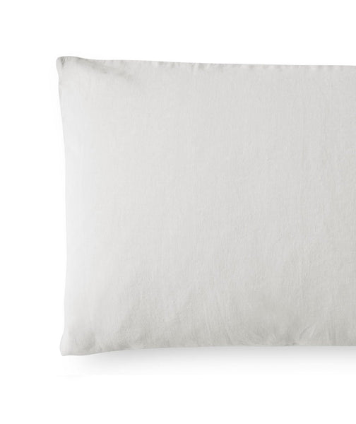Toulon Dove Grey Linen Pillowcase - The Linen Works (217487507466)
