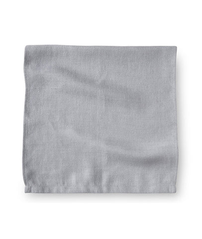 Pale Grey Linen Range Towel - The Linen Works (217730285578)