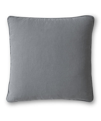 Charcoal Linen Cushion Cover - The Linen Works