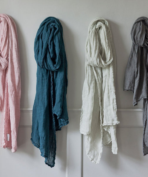 Linen Scarf Thick - The Linen Works (6903091271)