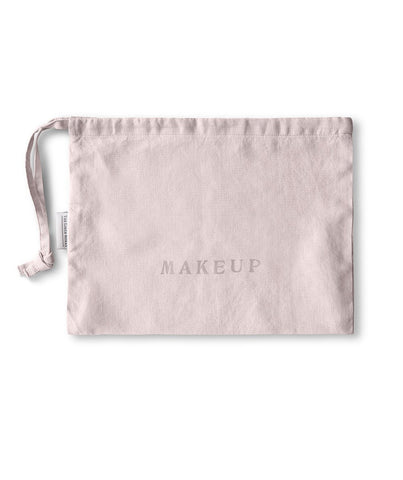 Rose Linen Makeup Bag - The Linen Works (217893797898)
