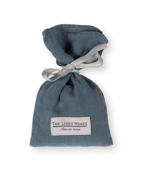 Parisian Blue Linen Lavender Bag - The Linen Works (217880297482)