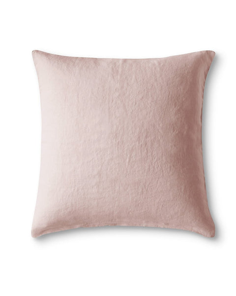 Cassis Rose Linen Pillowcase - The Linen Works (4463854780493)