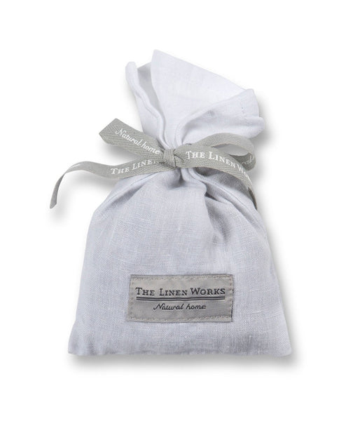 White Linen Lavender Bag - The Linen Works (217880068106)