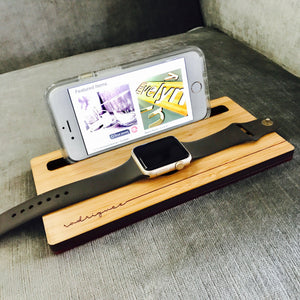 iPhone and Apple Watch Dock | Custom