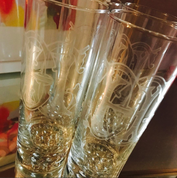 Tall Tumbler Glasses | Custom