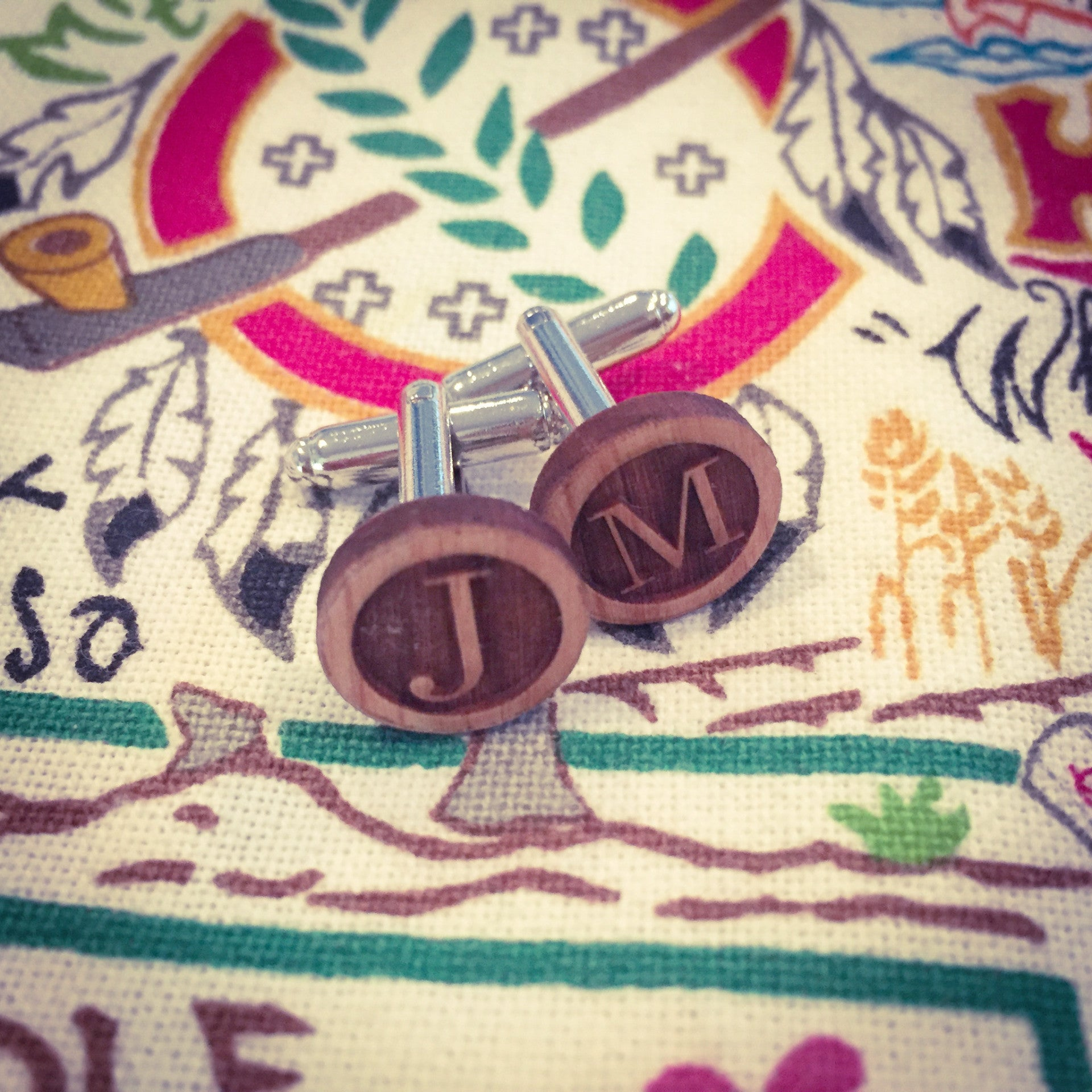 Cufflinks | Custom Initials