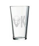 Pint Glass | Bison OK