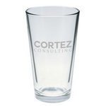 Pint Glass | Cortez Consulting