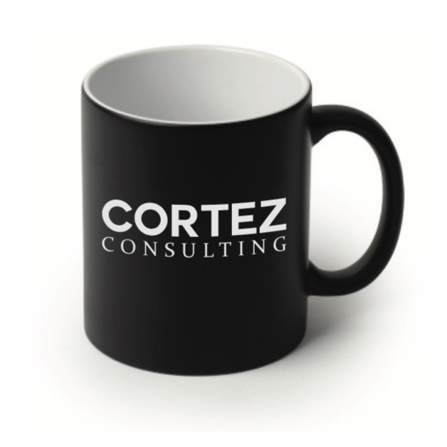 Black Coffee Mug | Cortez Consulting