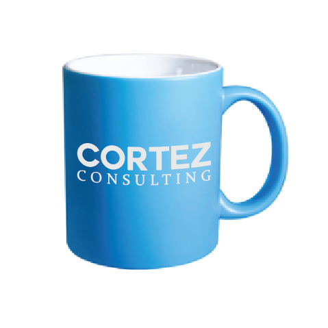 Blue Coffee Mug | Cortez Consulting