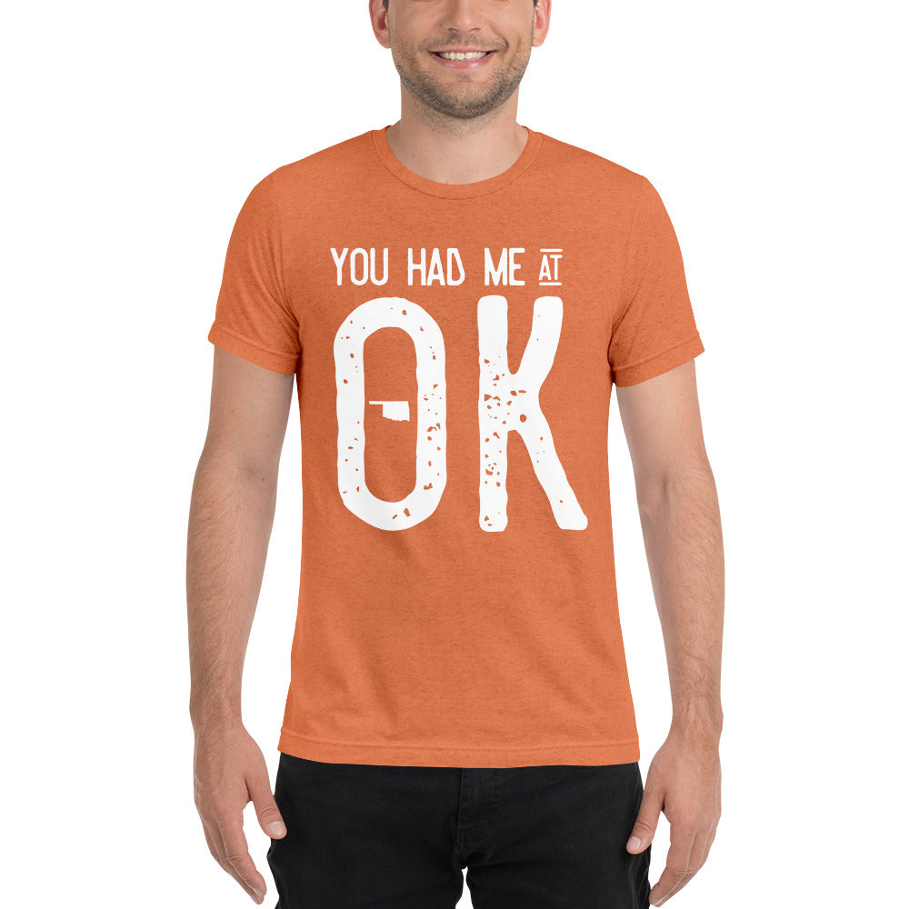 OK is More Than OK | Bella + Canvas Tee
