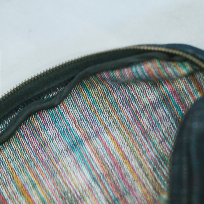 Journal Projects Rainbow Denim Pencil Case