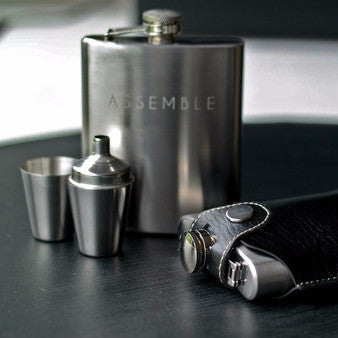 Assemble's Hip Flask Set