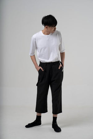 Detachable Suspender Trousers