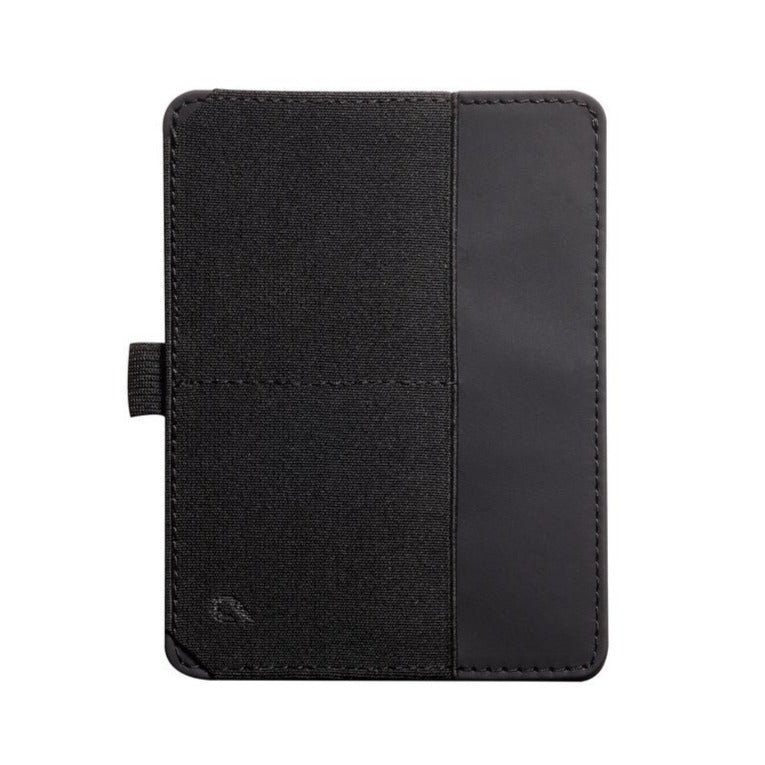 Passport Wallet (Black/Brown)