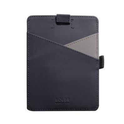 Passport Wallet (Blue/Grey)