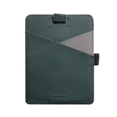 Passport Wallet (Green/Grey)