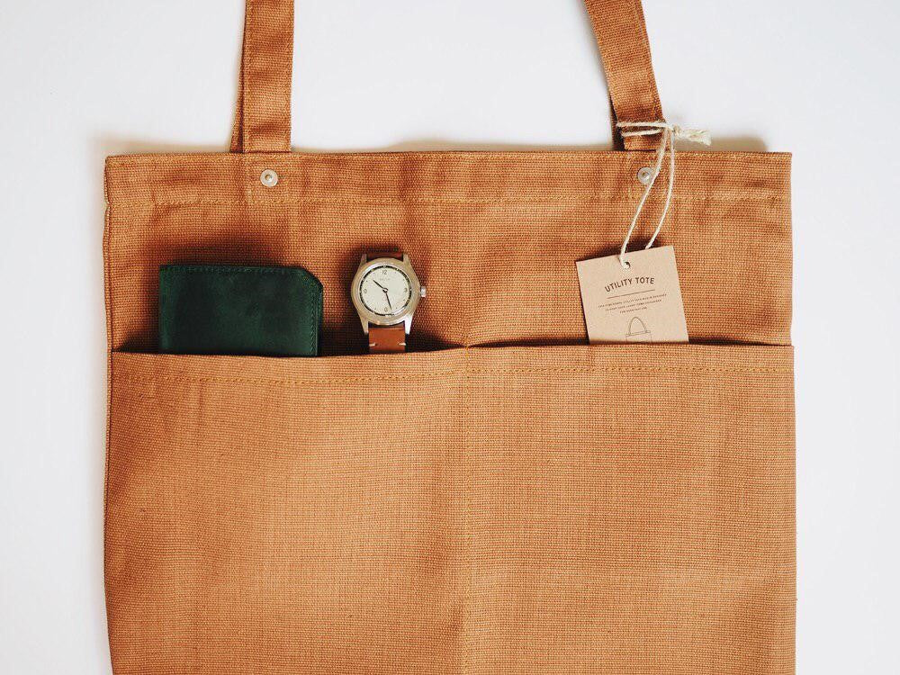 Journal Projects Utility Tote (12oz Brown Canvas)