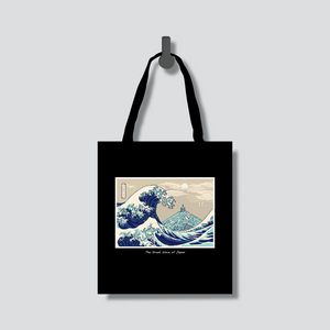 The Great Wave of Japan Tote Bag