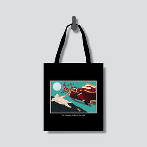 Creation of Fat Man Tote Bag