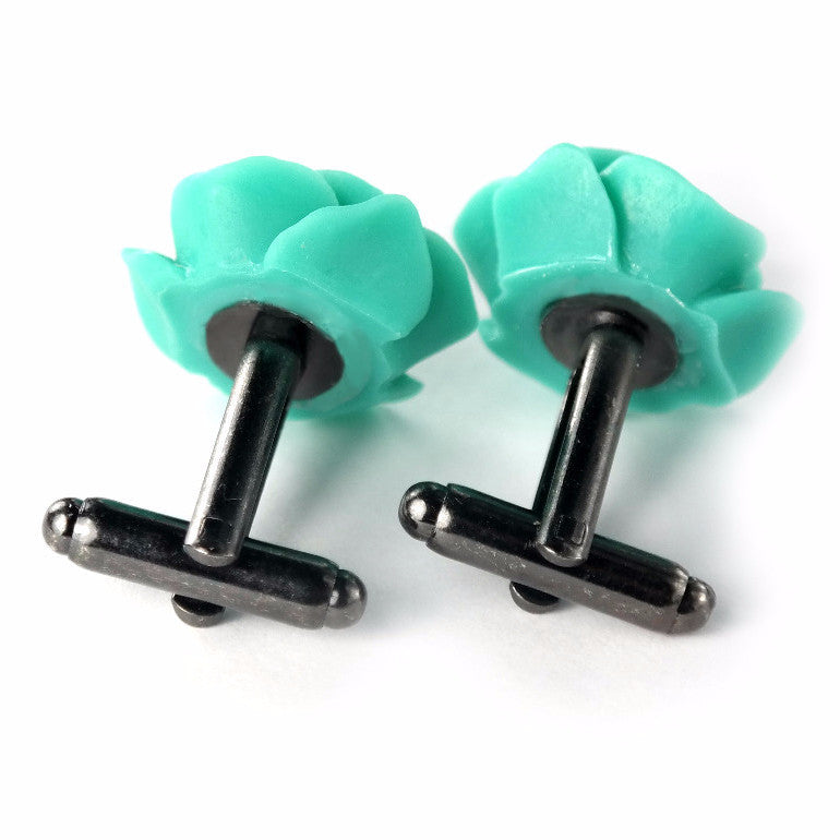 Cauli Resin Cufflinks - Tiffany