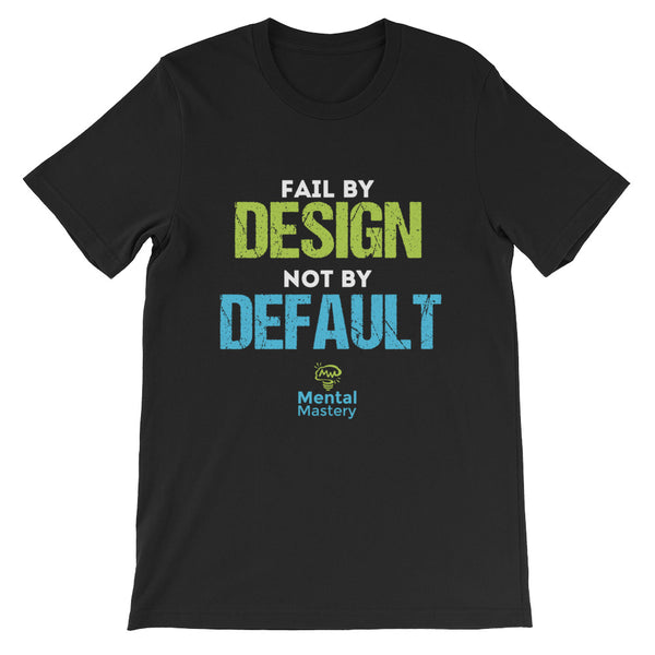 Short-Sleeve 'Fail by Design' Unisex T-Shirt
