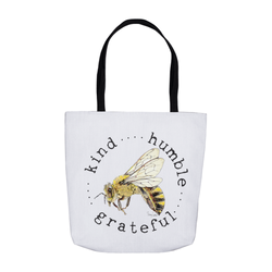 Beebop the Honeybee #beekind Tote Bags