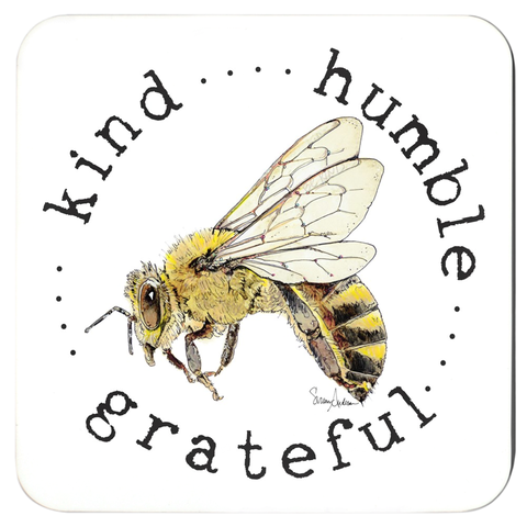 Beebop the Honey Bee Coasters by Suzanne Anderson