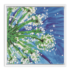 Queen Annes Lace by Suzanne Anderson Framed Canvas Wraps