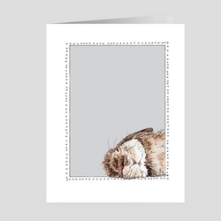 Sleepy Bunny | Woodland Animal | Note Cards by Suzanne Anderson