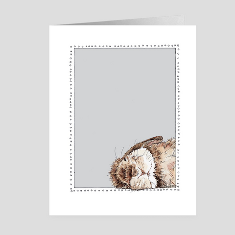 Sleepy Bunny | Easter Cards | Woodland Animal | Note Cards by Suzanne Anderson