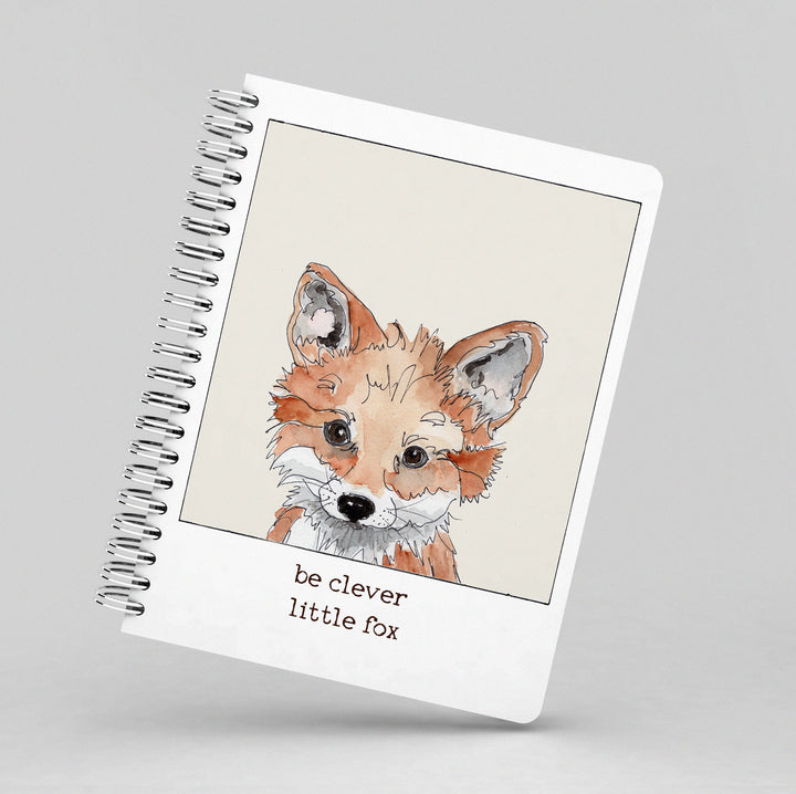 Be Clever Little Fox Notebook